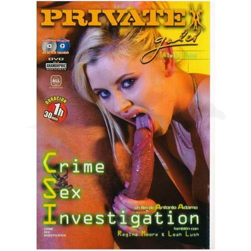 DVD XXX: 'Crime Sex'