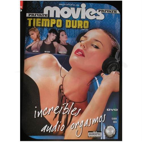 DVD XXX: 'Increibles Audio Orgasmos'