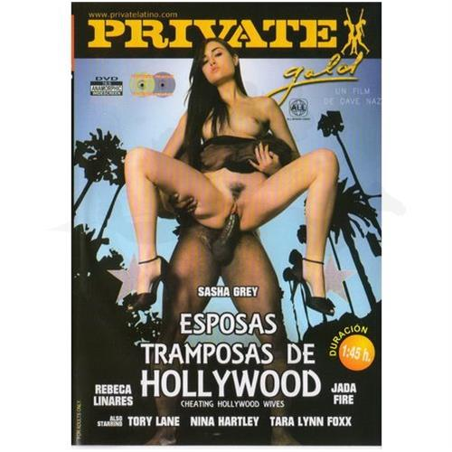 DVD XXX: 'Esposas Tramposas De Hollywood'