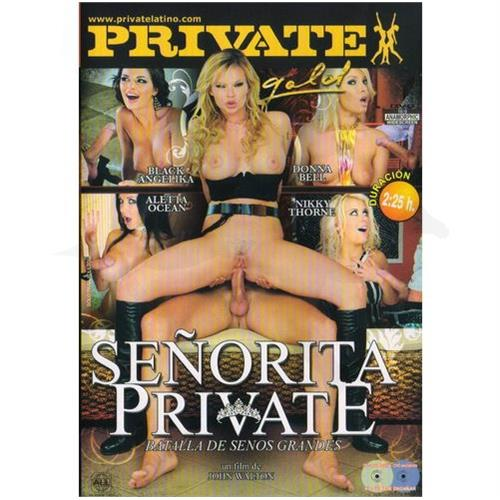 DVD XXX: 'Señora Private'