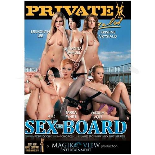 DVD XXX: 'Sex On Board'